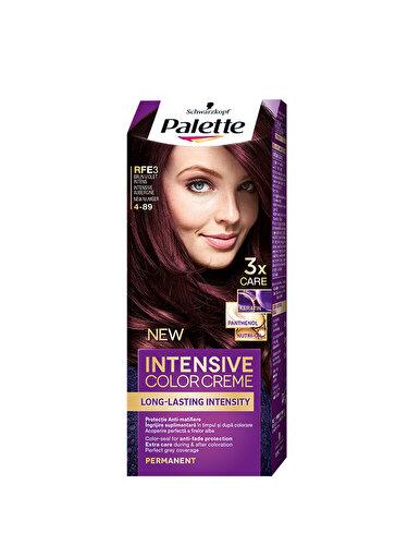 Vopsea de par Intensive Color Cream, RFE3 Brun Violet Intens