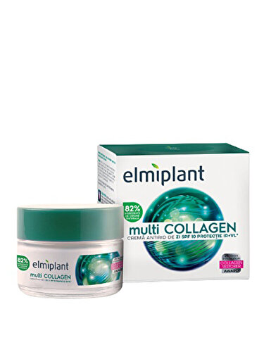 Crema antirid de zi Elmiplant cu multi collagen