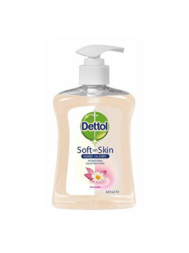 Sapun lichid antibacterian cu musetel Dettol Soft on Skin Hard on Dirt