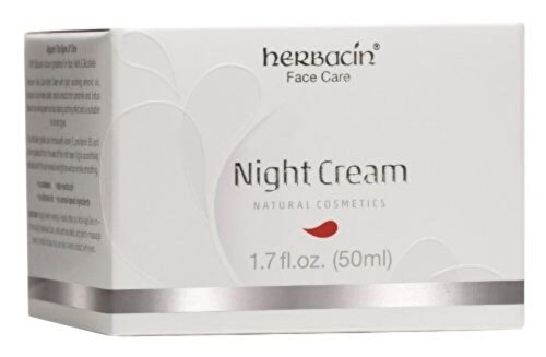 Crema faciala de noapte, regeneranta Herbacin