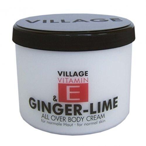 Crema corp Village Cosmetics vitamina E si Ghimbir - Lamaita