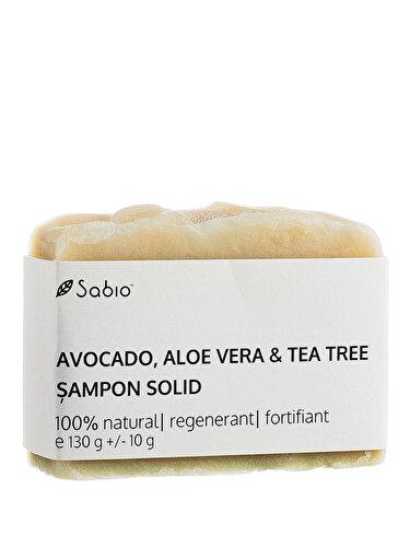 Sampon solid Sabio - Avocado, Aloe Vera & Tea-Tree