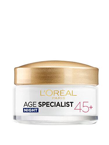 Crema antirid pentru fata L'Oreal Paris Age Specialist 45+ de noapte