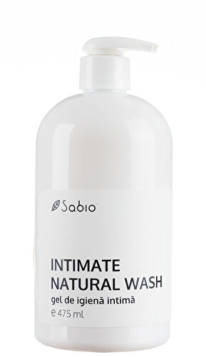 Gel de dus igiena intima Sabio Intimate Natural Wash