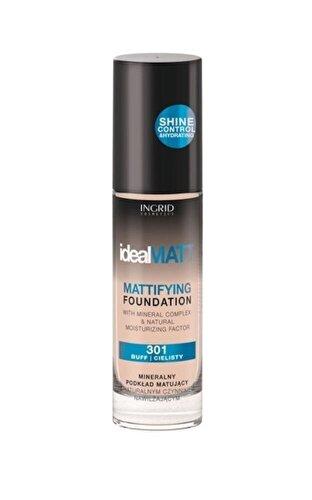 Fond de ten INGRID Cosmetics Ideal Matt, nr. 304