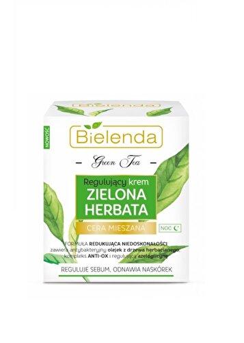 Crema de fata Bielenda Green tea, pentru noapte