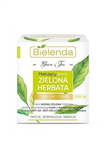 Crema de fata matifianta Bielenda Green Tea, pentru zi