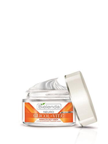 Crema de fata hidratanta Bielenda Neuro Glicol cu vitamina C si SPF 20, pentru zi