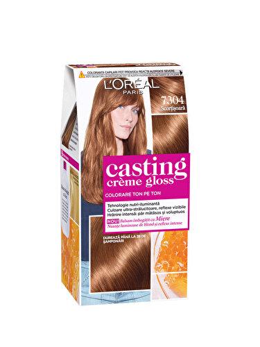 Vopsea de par semi-permanenta fara amoniac L'Oréal Paris Casting Creme Gloss 7304 Scortisoara
