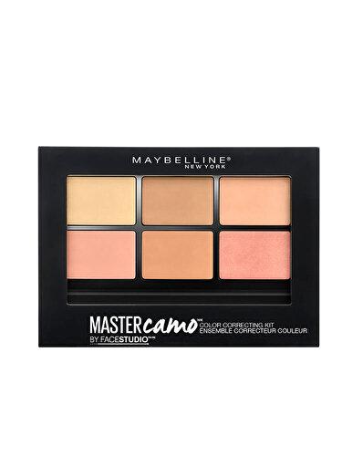 Paleta pentru corectarea imperfectiunilor Maybelline New York Master Camo 02 Medium