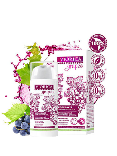 Crema de zi pentru fata Viorica Grapes Antioxidanta
