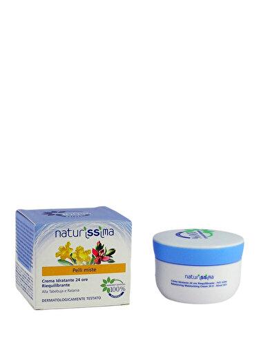 Crema hidratanta si sebo-reechilibranta 24 ore Naturissima pentru ten mixt