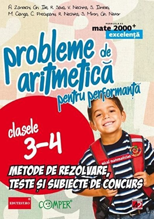 Probleme de matematica Cl. III-IV, ED. 5/A. Zanoschi, Gh. Ilie