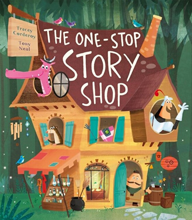 One-Stop Story Shop, Hardback/Tracey Corderoy