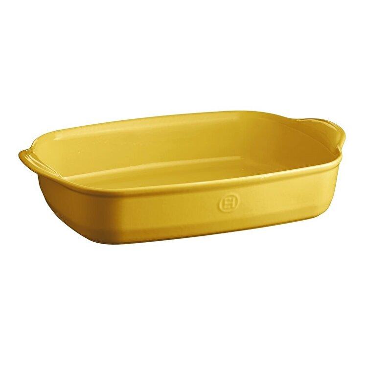 Tava Provence yellow, Emile Henry, 42.5 x 28 cm, 965490, ceramica, Galben imagine