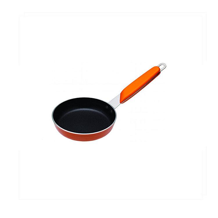 Mini-tigaie, Kitchen Craft, 12 cm, CWFRYDISP12, inox, Portocaliu imagine