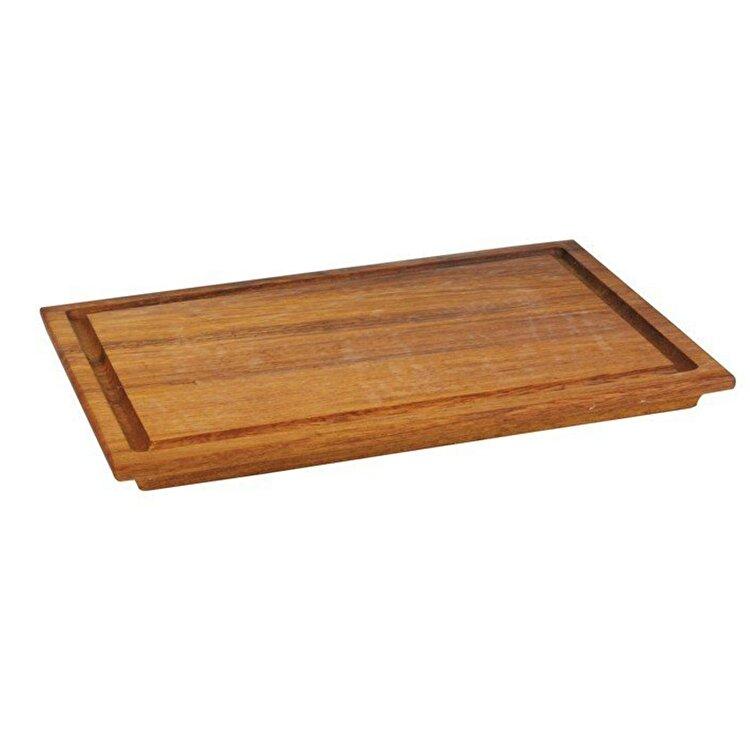 Platou servire aperitive, Lava, 35 x 25 cm, LVAS201, lemn, Maro imagine 2021