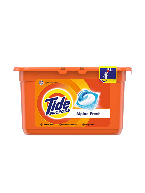 Detergent capsule Tide 3in1 PODs Alpine Fresh 12 buc, 12 spalari imagine