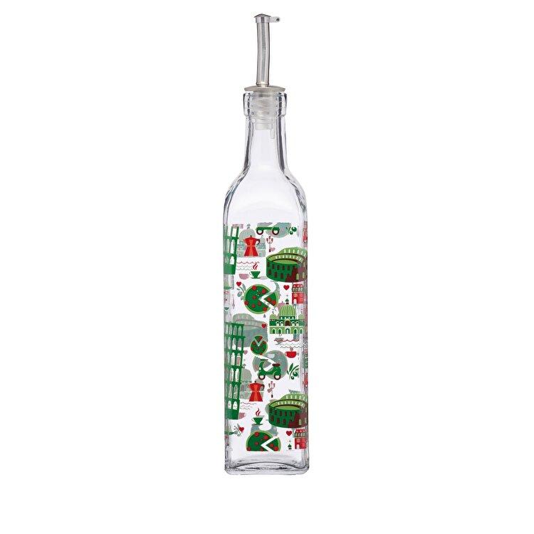 Recipient ulei/otet, Kitchen Craft, 500 ml, WFITLGODISP12, sticla, Multicolor