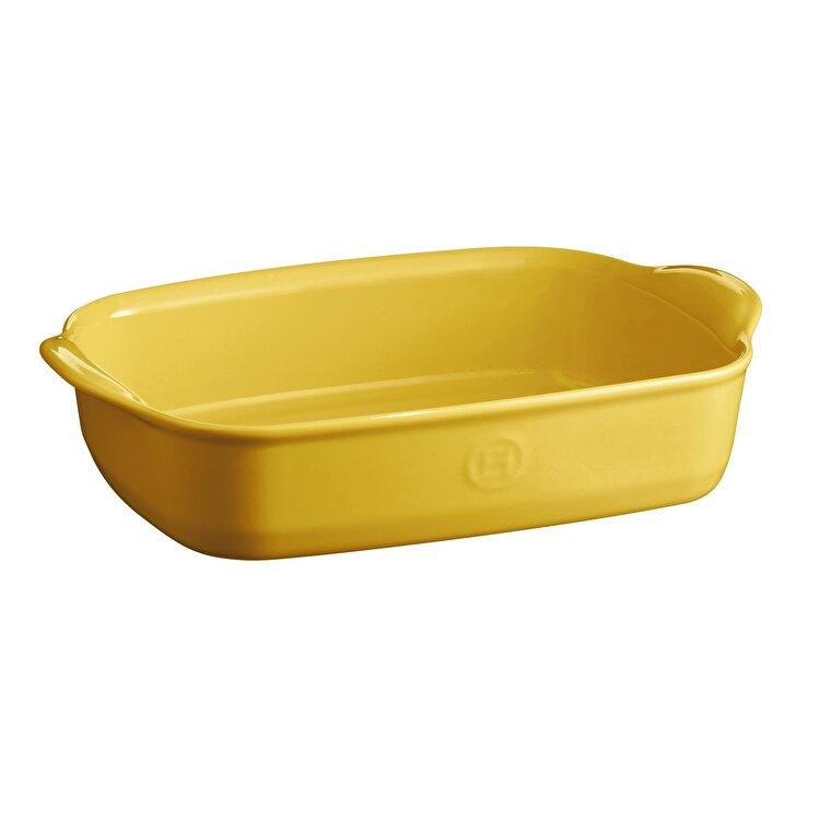 Tava Provence yellow, Emile Henry, 30 x 19 cm, 965090, ceramica, Galben imagine