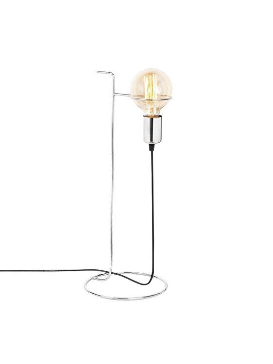 Lampa de masa, Opviq, E27, 19 x 51 x 19 cm, 892OPV1112, metal, Negru imagine