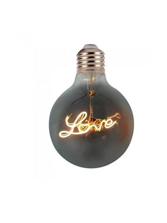 Bec LED Filament, V-TAC, 2700, E27, 5W, 2200K, corp fumuriu imagine