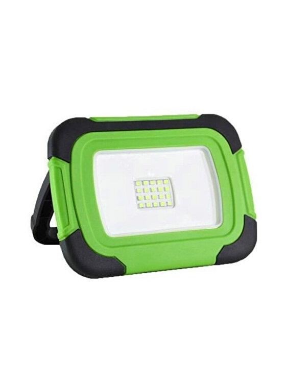 Proiector LED Reincarcabil cu CIP SAMSUNG, V-TAC, 502, 10W, functie USB + SOS IP44 6400K imagine
