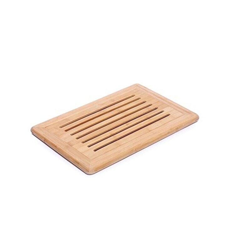 Tocator pentru paine, Zokura, 42 x 28 cm, Z1107, lemn, Maro imagine