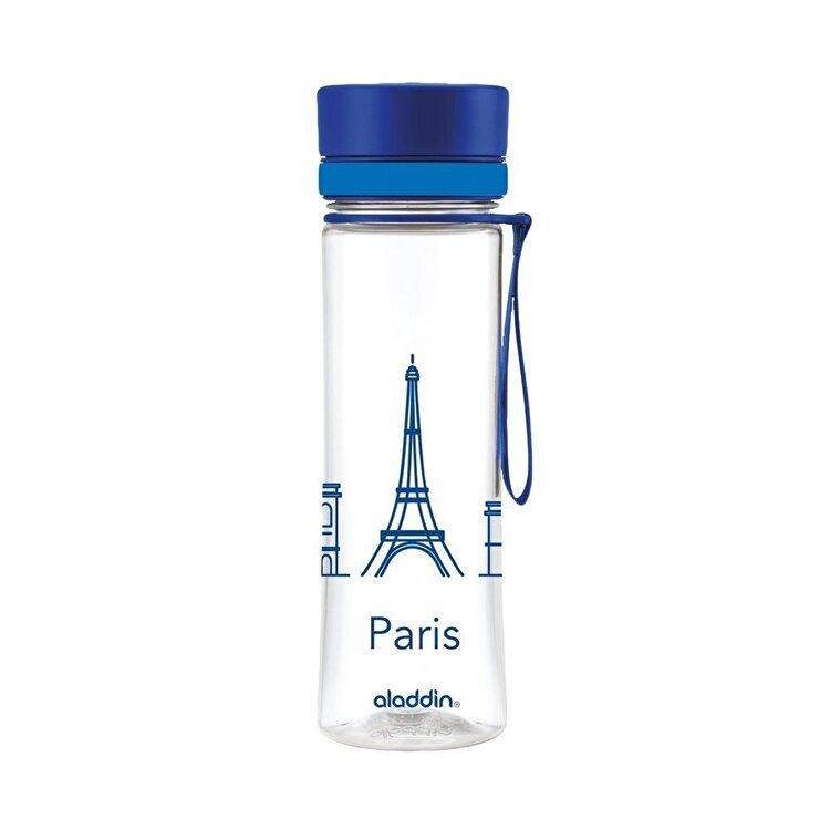Sticla Paris Aveo, Aladdin, 600 ml, 1001102085, plastic, Albastru