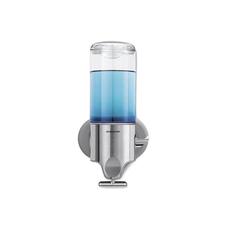 Dozator sapun lichid, SimpleHuman, 440 ml, BT1034, inox, Argintiu imagine