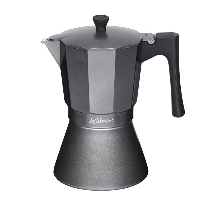 Cafetiera, Kitchen Craft, 475 ml, LX9CUPGRY, aluminiu, Gri imagine