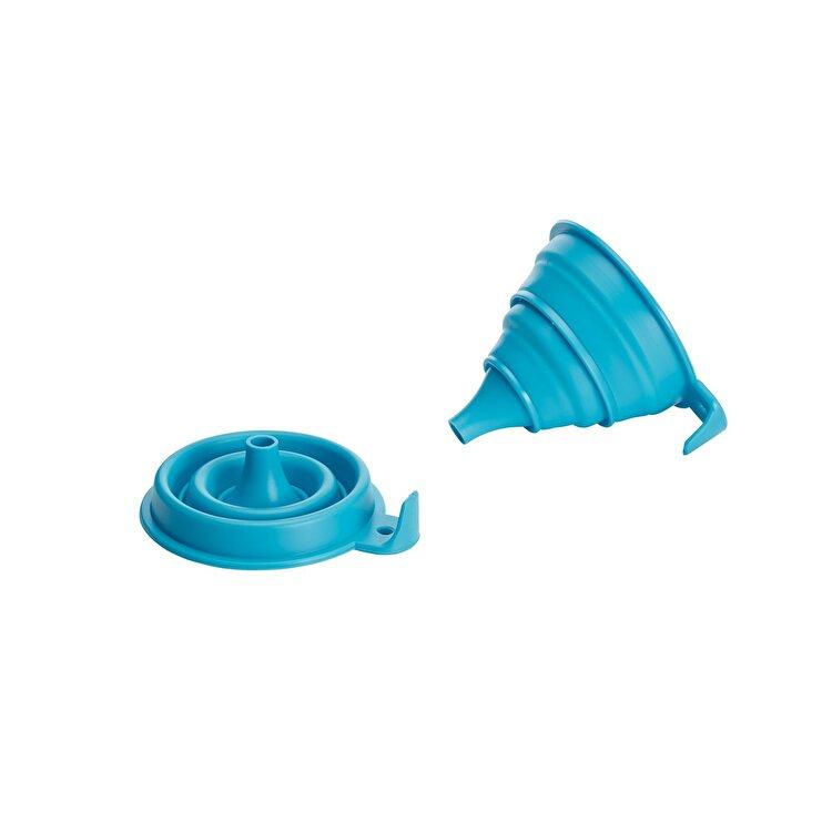 Palnie pliabila, Kitchen Craft, CWFUNDISP24, silicon, Albastru imagine 2021
