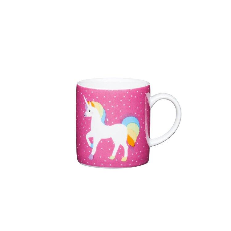 """Ceasca espresso """"Unicorn"""", Kitchen Craft, 80 ml, KCESPRESS41, portelan, Multicolor"""