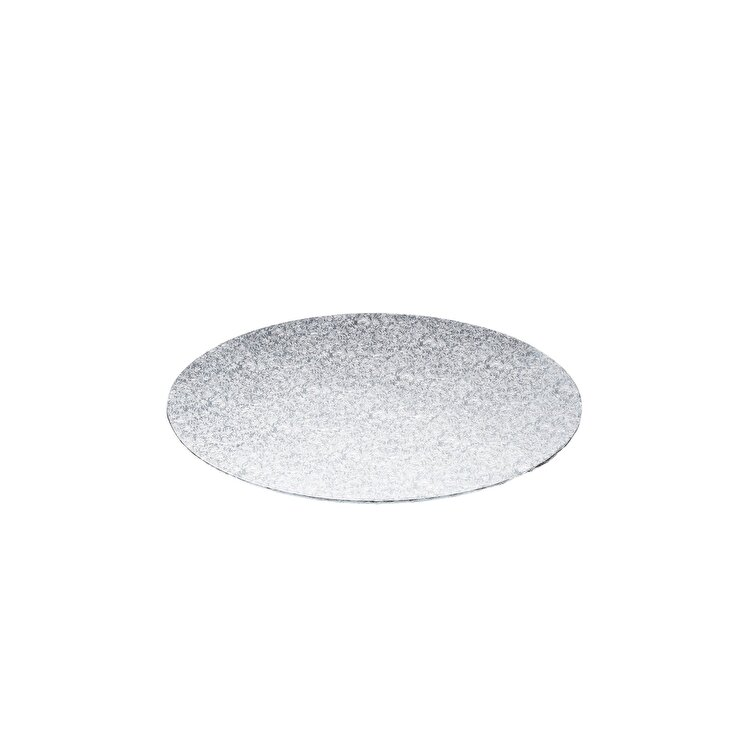 Blat servire tort rotund, Kitchen Craft, 25 cm, SDICBRD10DT, plastic, Gri imagine