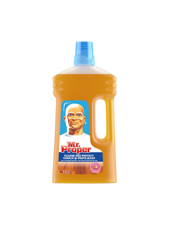 Detergent universal Mr Proper pentru suprafete din lemn, 1 L imagine