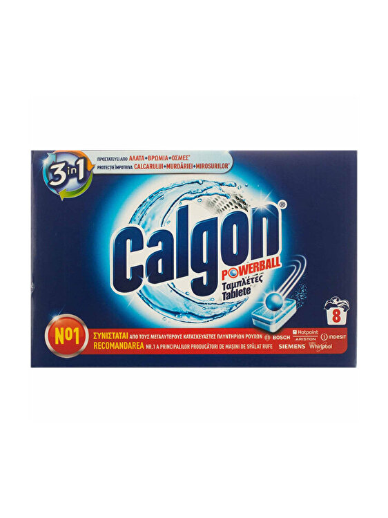 Tablete anticalcar Calgon 3in1 Powerball 8 bucati imagine