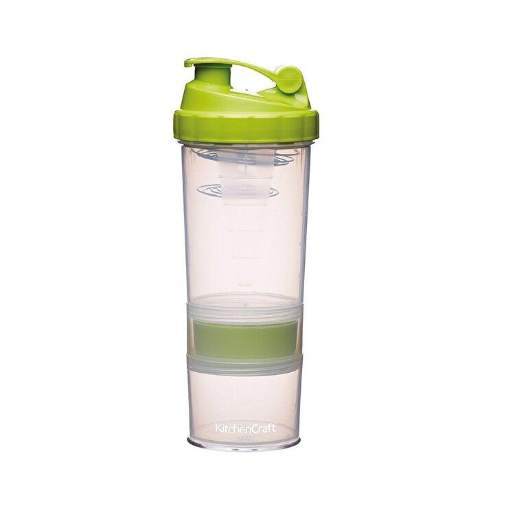 Shaker, Kitchen Craft, 575 ml, KCHESHAKE, plastic, Verde imagine
