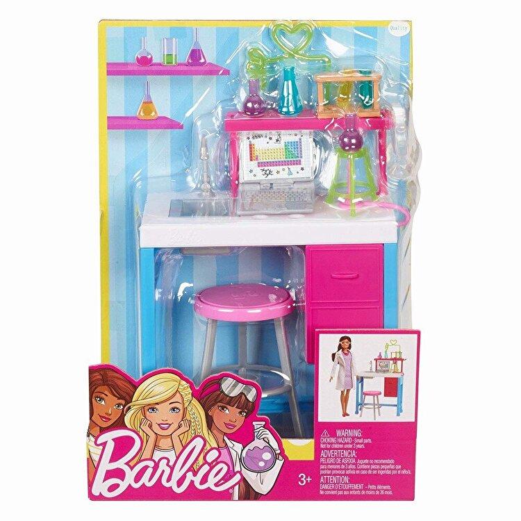 Set de joaca, Barbie - mobilier laboratorul de chimie