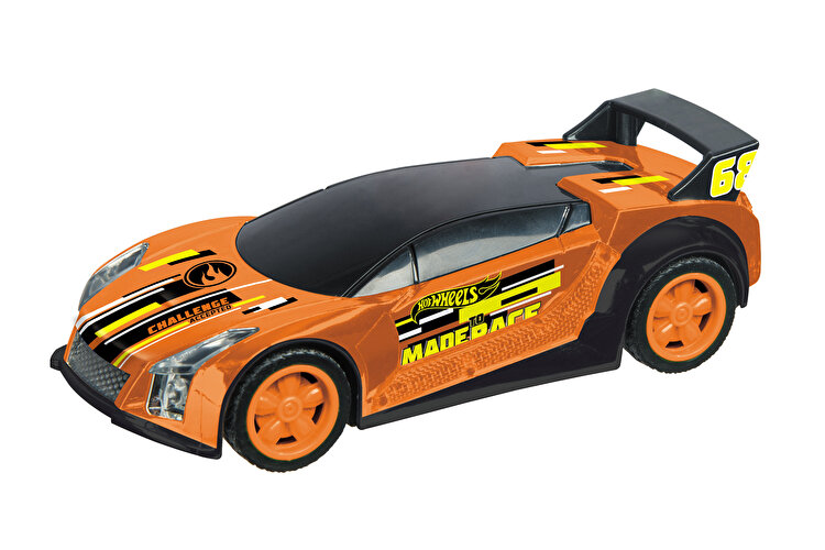 Masinuta pull back Hot Wheels, Quick portocaliu