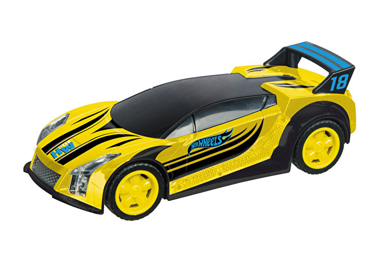Masinuta pull back Hot Wheels, Quick N'Sik galben