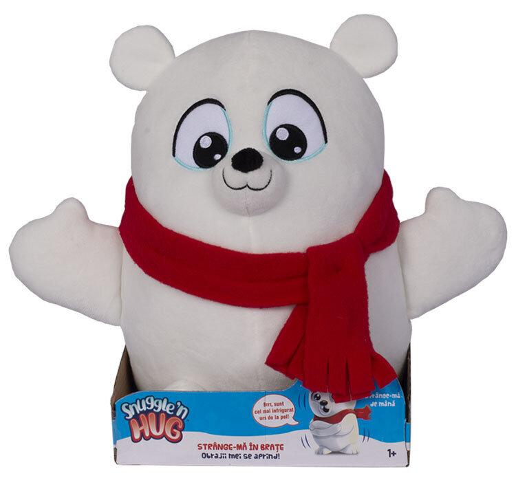 Jucarie de plus interactiva Snuggle and Hug , Urs polar