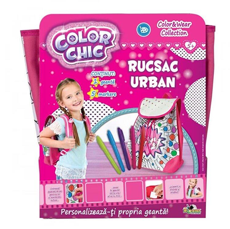 Rucsac urban cu paiete reversibile, Color Chic