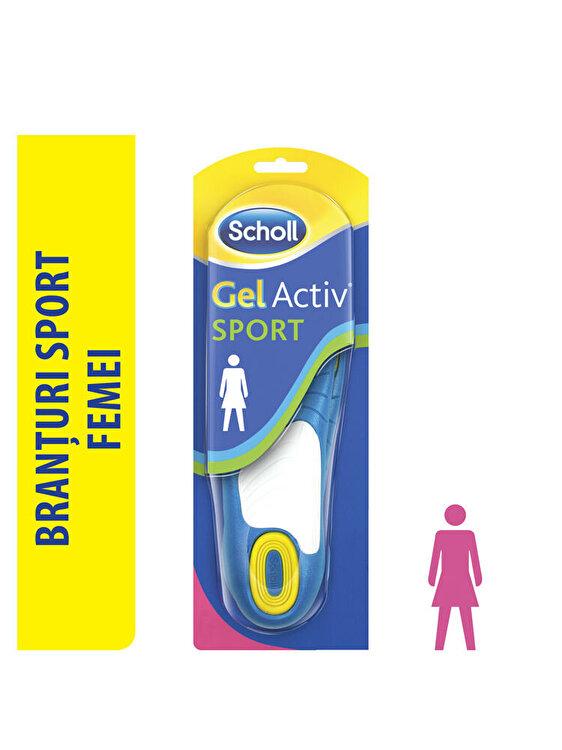 Branturi Scholl Gel Activ pentru pantofi femei, model  sport fotografia produsului