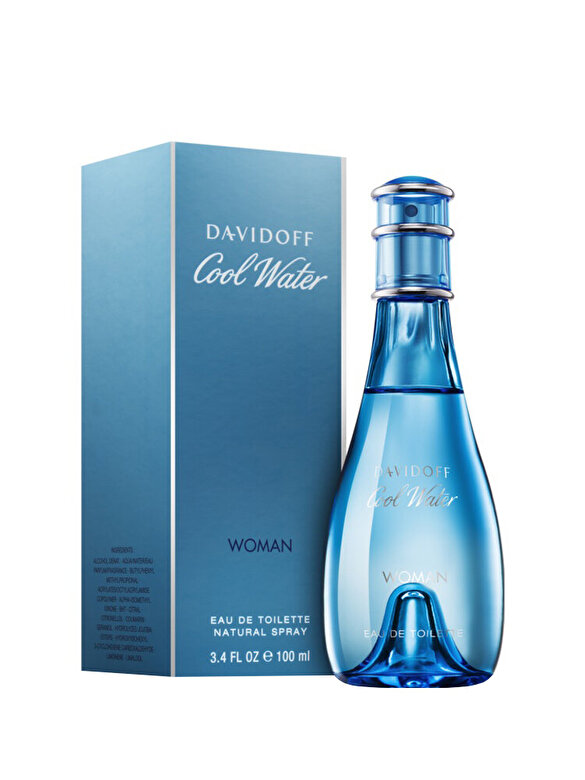 Apa de toaleta Davidoff Cool Water, 100 ml, Pentru Femei