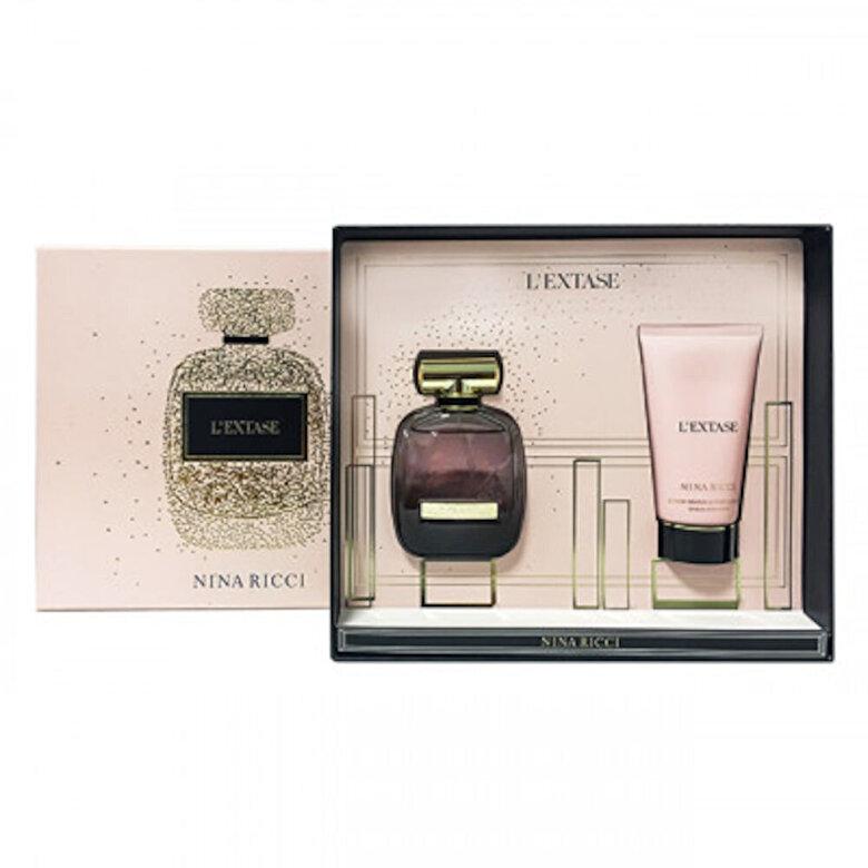 Nina Ricci - Set cadou L'Extase (Apa de parfum 50 ml + Lotiune de corp 75 ml), Pentru Femei - Incolor