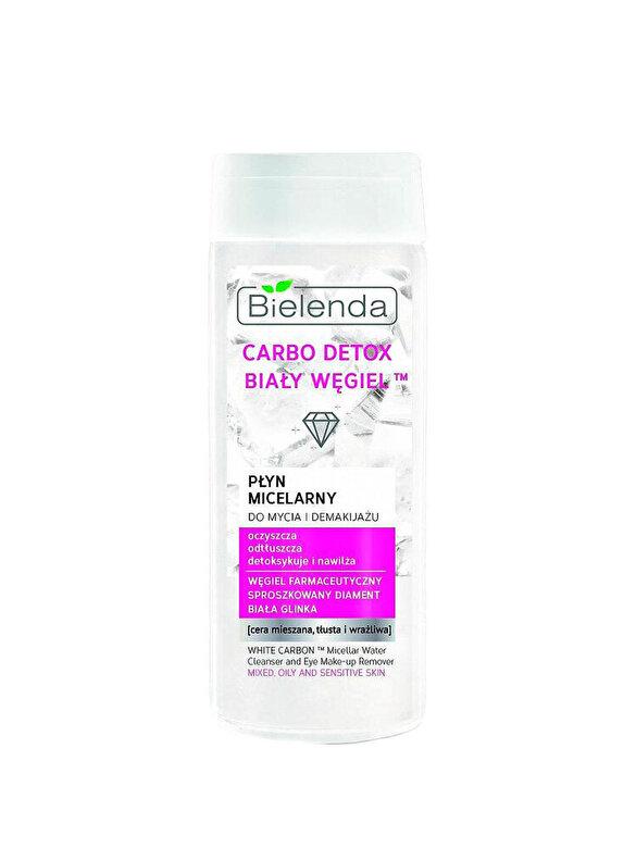 Apa micelara Carbo Detox pentru curatare tenului si machiajului
