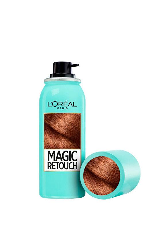 Spray instant Magic Retouch pentru camuflarea radacinilor crescute intre colorari 6 Roscat