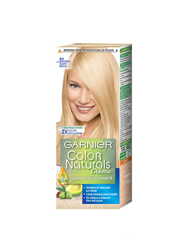 Decolorant de par cu amoniac Garnier Color Naturals E0, 110 ml