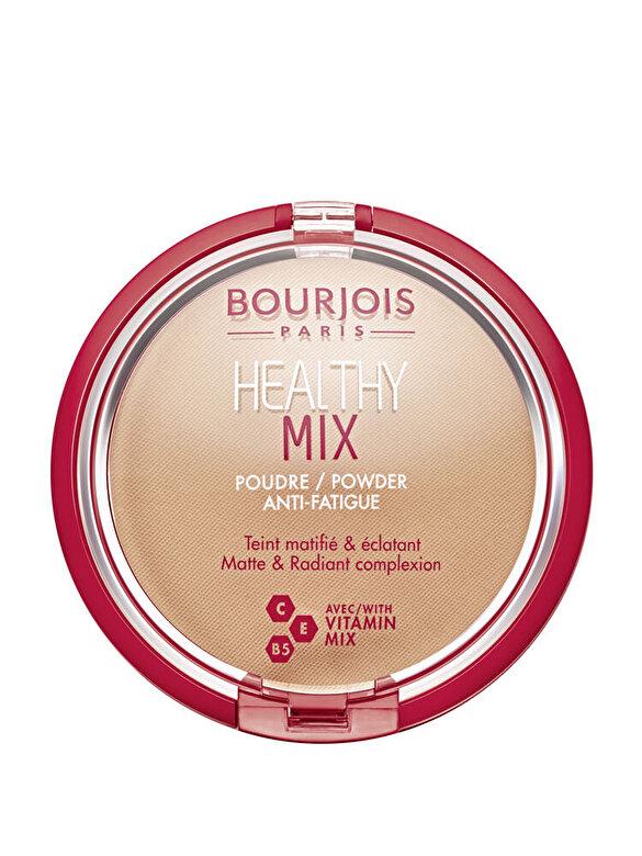 Pudra compacta Bourjois Healthy Mix, 004 Light Bronze, 11 g