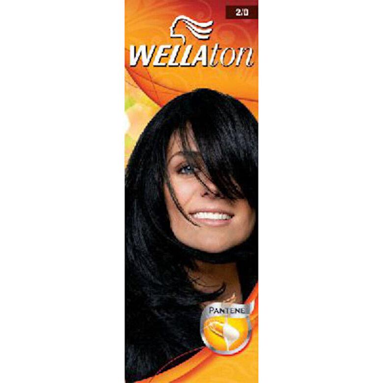 Vopsea Wellaton - Negru 2/0